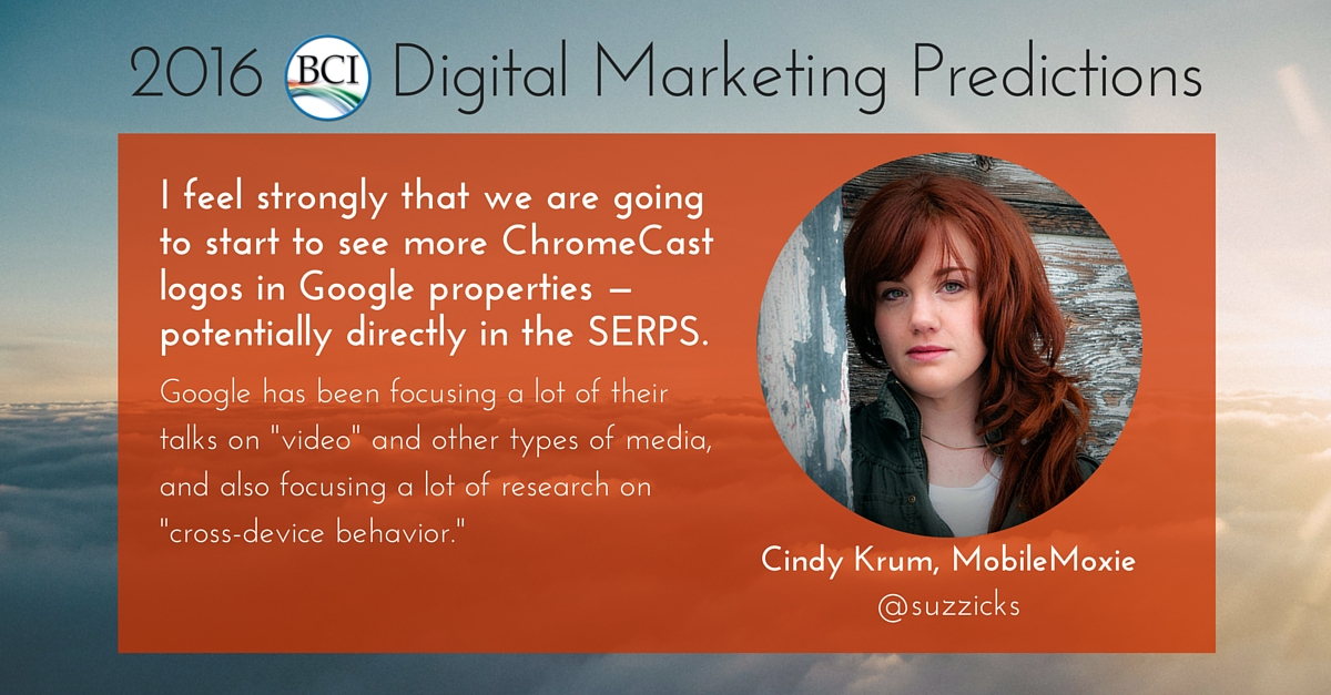 cindy krum predicts chromecast in google SERPs