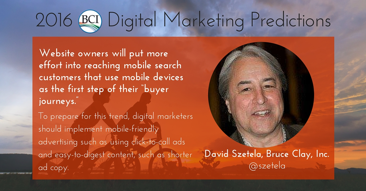 david szetela predicts mobile buyer journey optimization in 2016