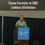 Duane Forrester at SMX-Link Attibution