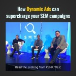 Dynamic Ads session at SMX West