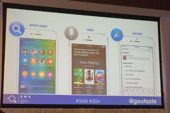 Spotlight, Siri and Safari #SMX