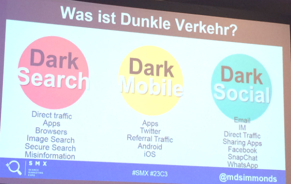 dark search mobile social buckets