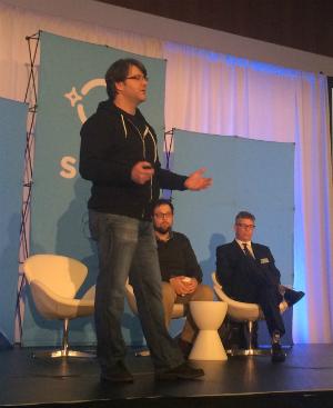 Dave Besbris speaking at SMX West