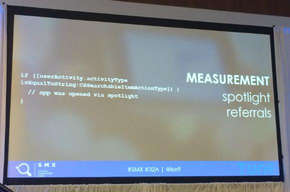 Measurement spotlight referals