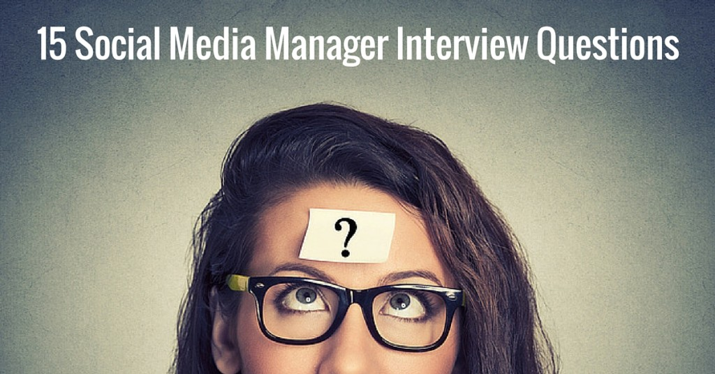 Social Media Manager Job Description Social Media Manager Interview Questions