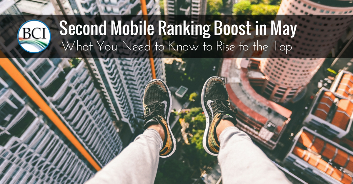 mobile seo ranking boost may 2016