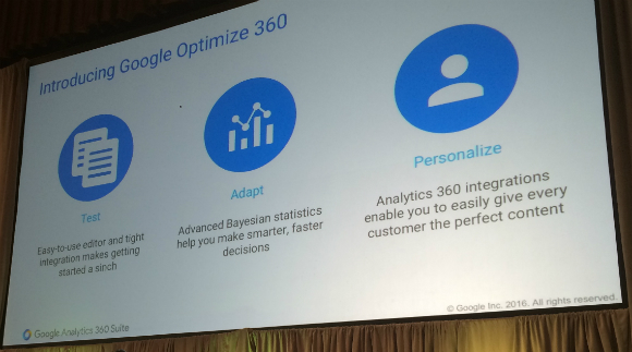Google Optimize 360 for CRO