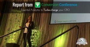 CRO Analytics session by Krista Seiden