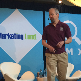 Eric Enge at SMX Advanced 2016