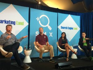 SMX Advanced panel on search ranking factors