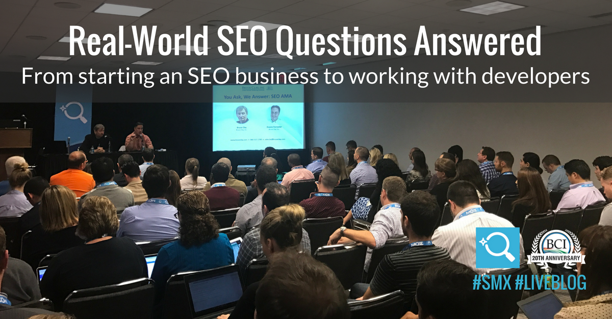 bruce clay duane forrester answer seo questions