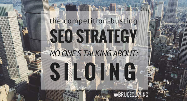 seo siloing for competitive advantage