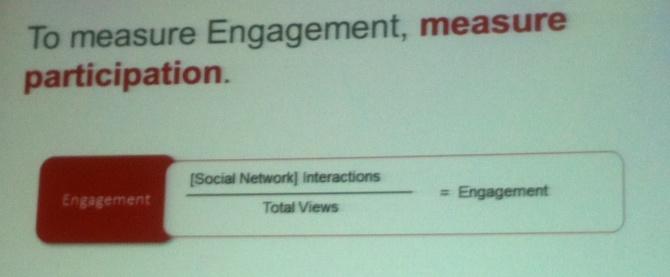 Engagement formula