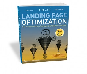Picture of the Book, Landing Page Optimization: The Definitive Guide to Testing and Tuning for Conversions, Second Edition