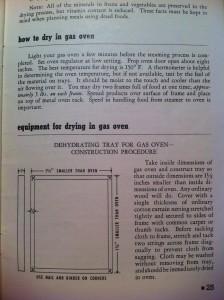 A Page Inside Vintage Booklet