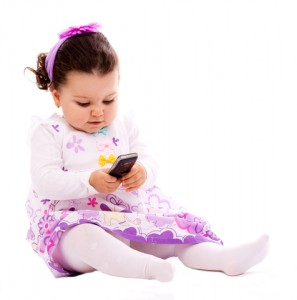 Baby and Cell Phone