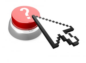 Mouse Icon Over a Button with a Questions Mark