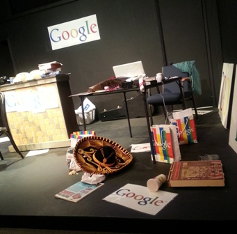"The Stage at ""I Am Google."" Photo taken by Jessica Lee."