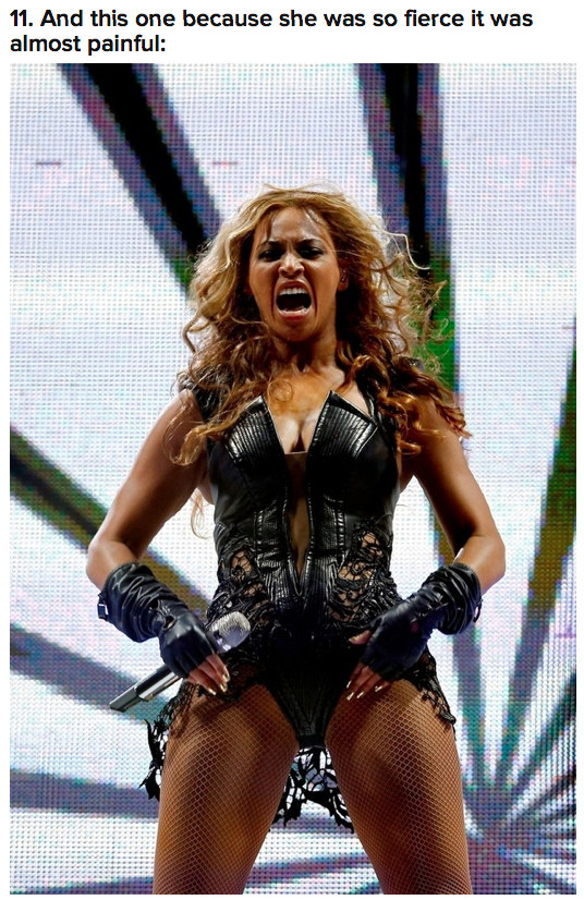 Beyonce at Super Bowl