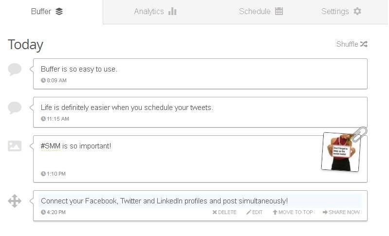 Buffer App for Twitter
