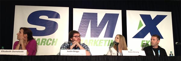 Link Building - Master Class Panel at SMX Advanced 2013