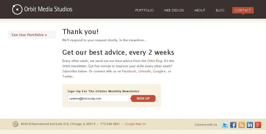 4 Thank You Page Examples That Got It Right Cro Tips For