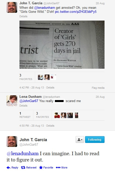 johngarcialenadunham tweets