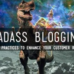 blogging with dinosaurs title slide
