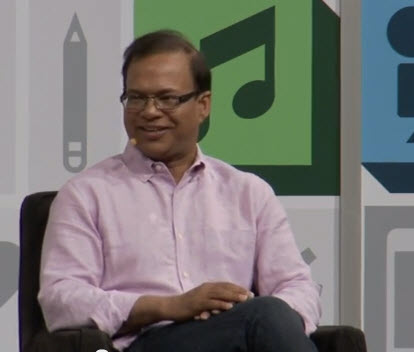 Amit Singhal speaking at SXSW 2013.