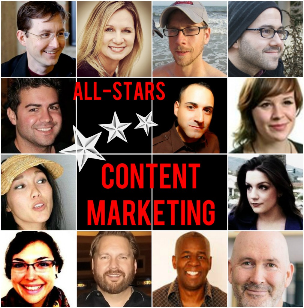 content marketing all stars