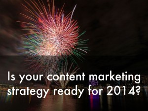 content marketing strategy 2014