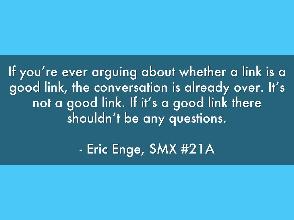 Link Building-SMX-Eric-Enge