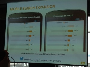 SMX slide on mobile search expansion