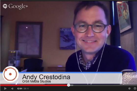 Hangout with Andy Crestodina