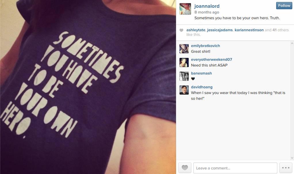 Joanna Lord Instagram Hero SMX East 2014