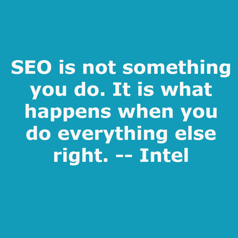 The Intel SEO Philosophy | Big Brand SEO | #SMX West 2015