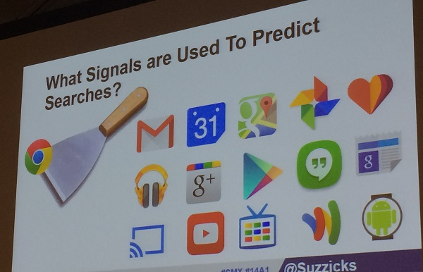 signals used to predict searches