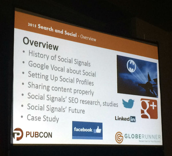 Overview of search and social content strategy