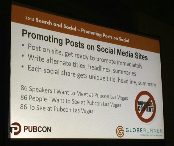 Promoting posts on social media sites