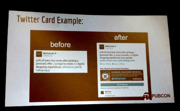 Social Media Mobile Twitter Card