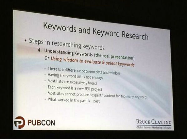 Step 4 Keyword research