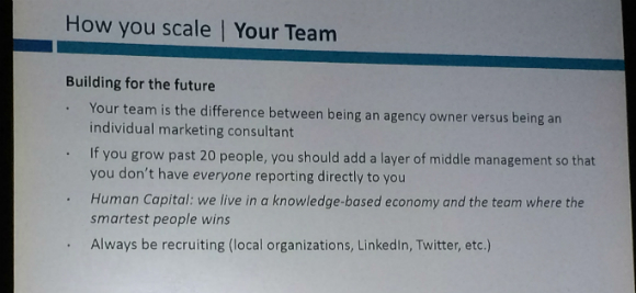 How to scale your team