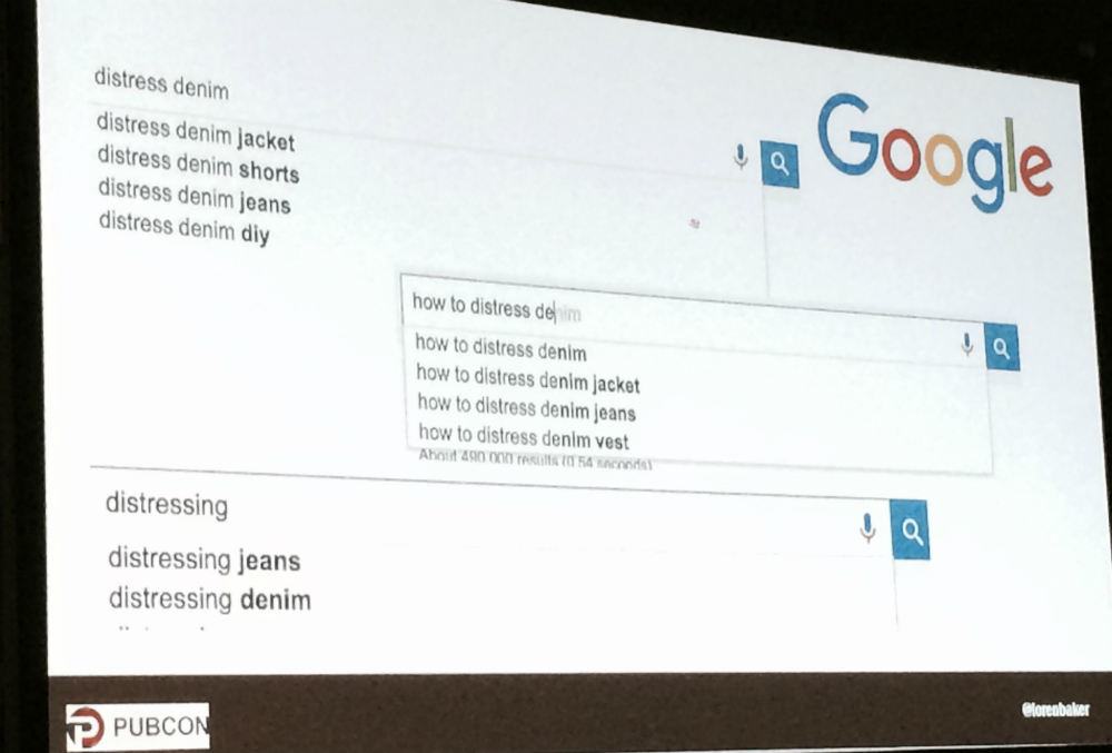 Google AutoComplete for keyword research