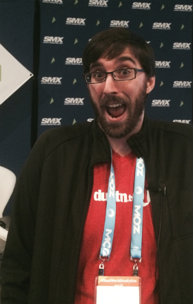 Dustin Stout at SMX East