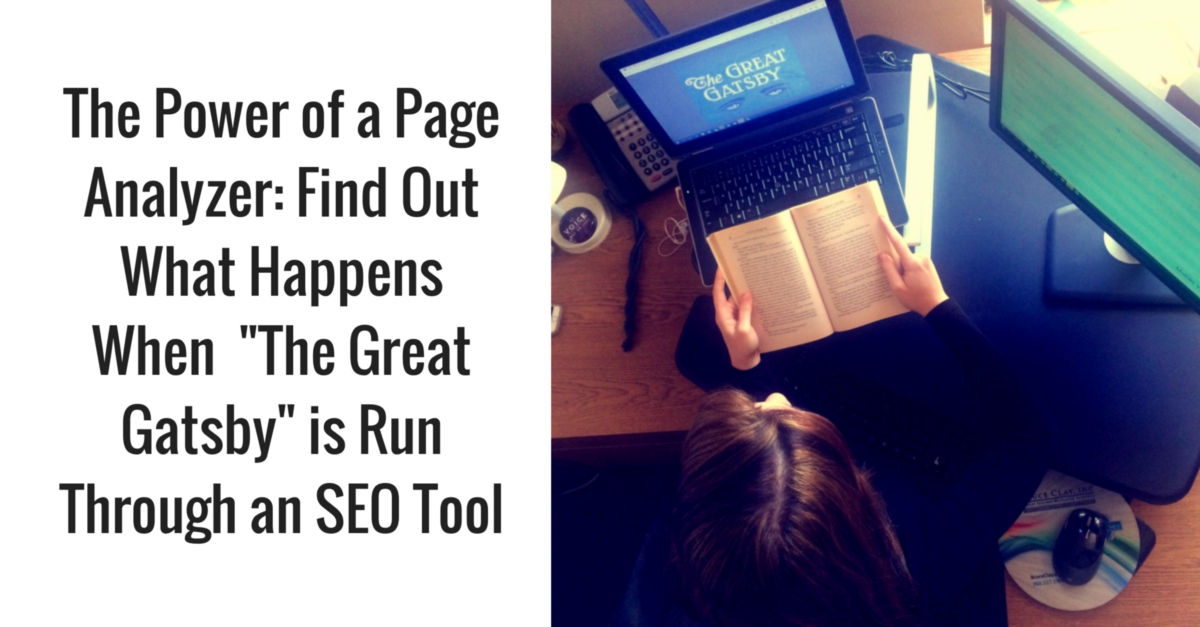 Find Out What Happens When _The Great Gatsby_ is Run Through an SEO Tool