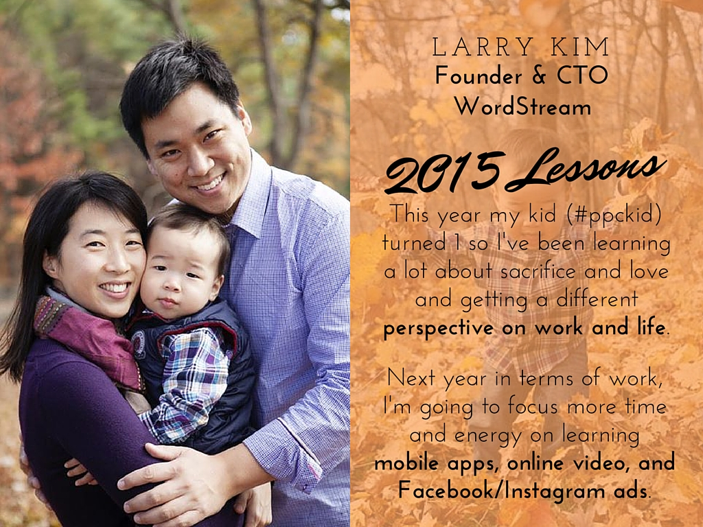Larry Kim 2015 lessons