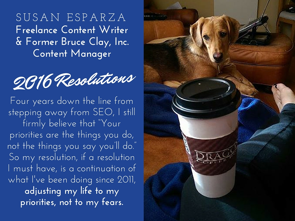 Susan Esparza resolutions