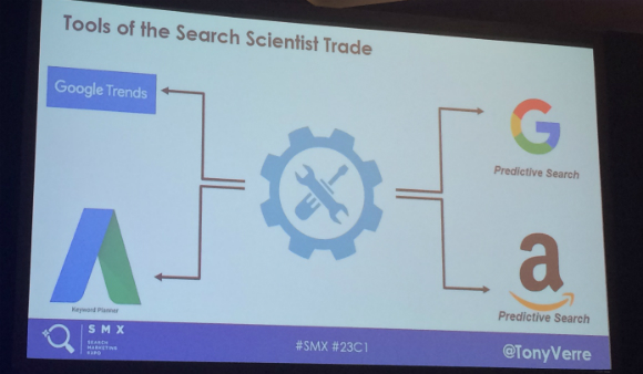 tools of the search scientist slide