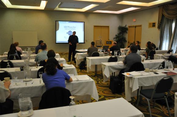 SEOToolSet training classroom