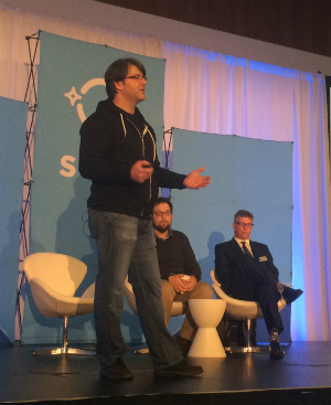 Dave Besbris speaking at SMX West